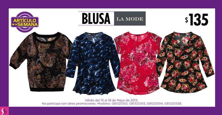 Artículo de la semana Suburbia mayo 13: blusa $135