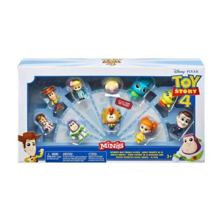 Sam's Club: Mini Figuras Disney Pixar Toy Story 4 (10 Piezas)