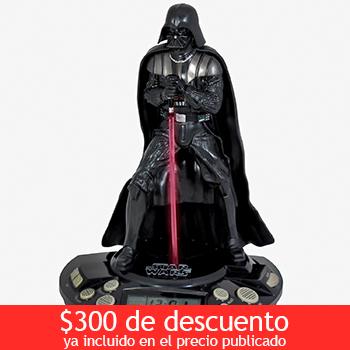 Costco: Despertador Darth Vader $499