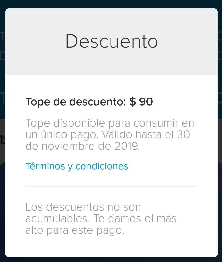 MERCADO PAGO Recarga 100 ($10) usuarios seleccionados