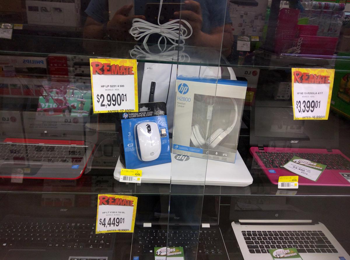 Bodega Aurrerá: Varias liquidaciones Laptops HP Ej Hp V140LA de $8,990 a $4,449.01