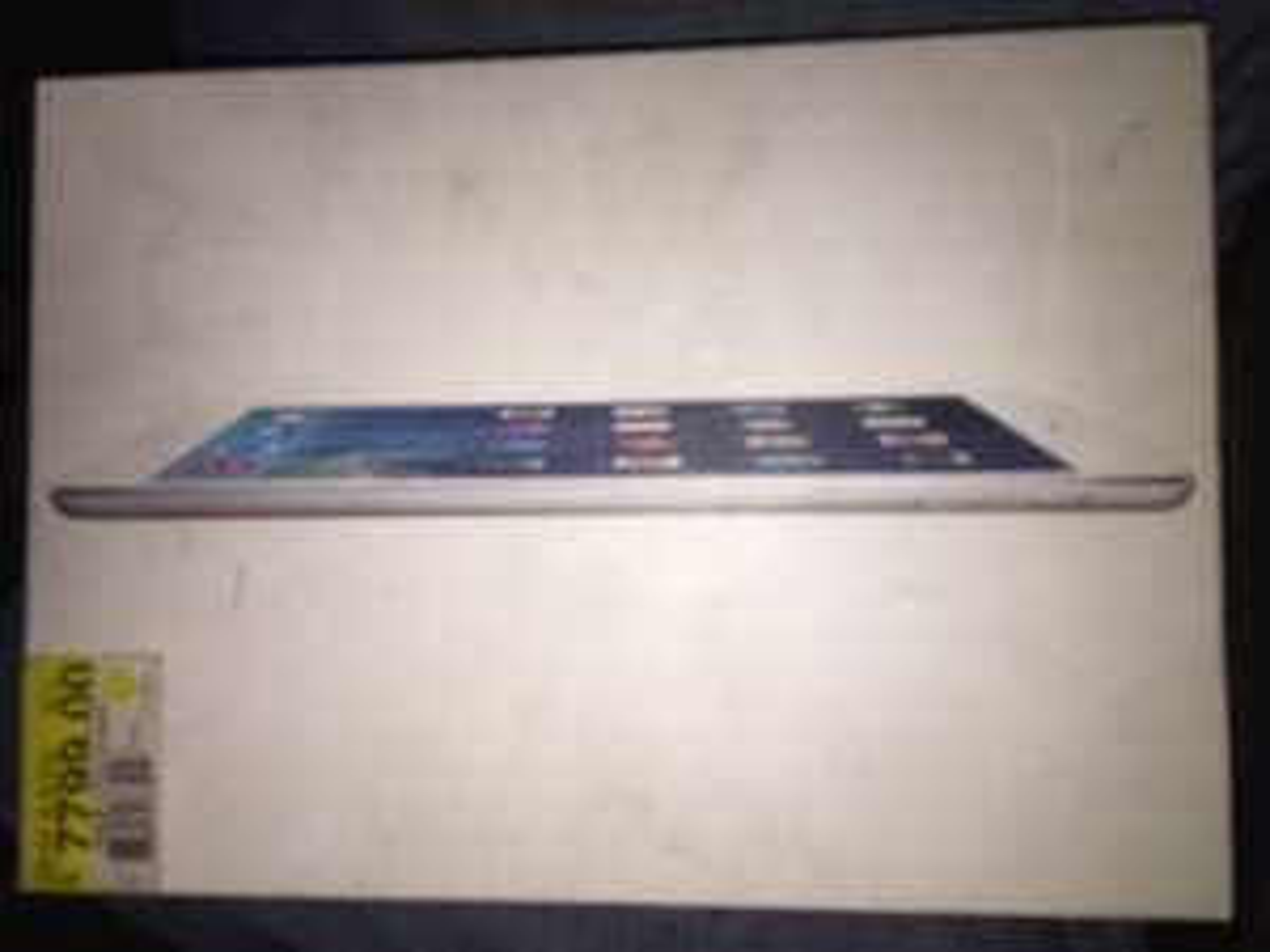 Walmart Cd. Jardin: iPad Air 1 de 16GB a $3,849