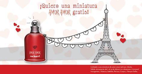 Liverpool: muestra perfume de amor amor GRATIS con cupón