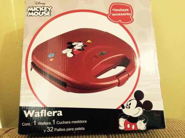 Bodega Aurrerá: Waflera de Mickey Mouse a $119