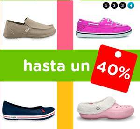 Crocs: descuentos y envío gratis en tienda en línea