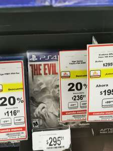 Chedraui Tapachula. Evil within 2 ps4