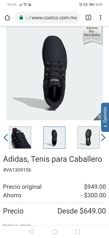 Costco: tenis Adidas caballero