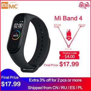 AliExpress: Xiaomi Mi Band 4