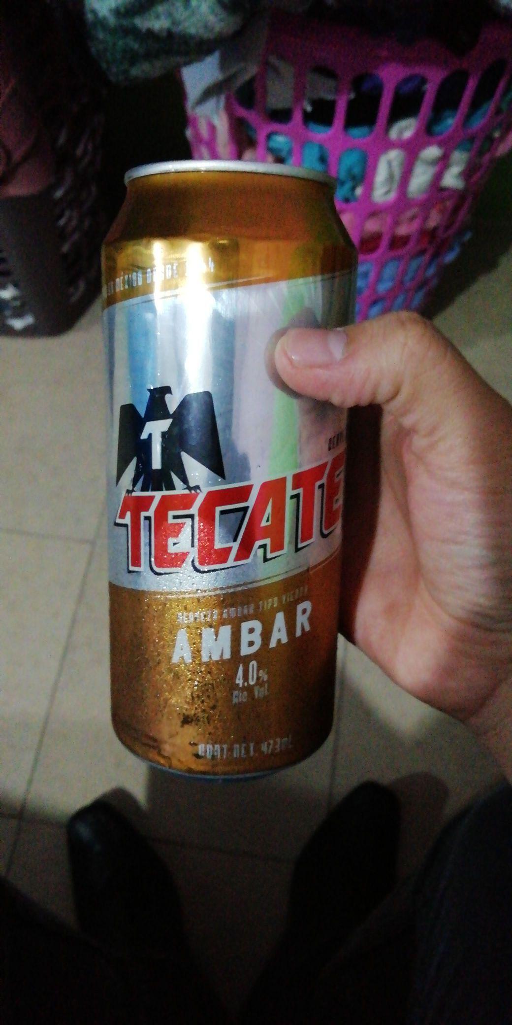 comercial mexicana Tecate ámbar