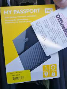 Officemax - My passport WD disco Duro Externo 1TB