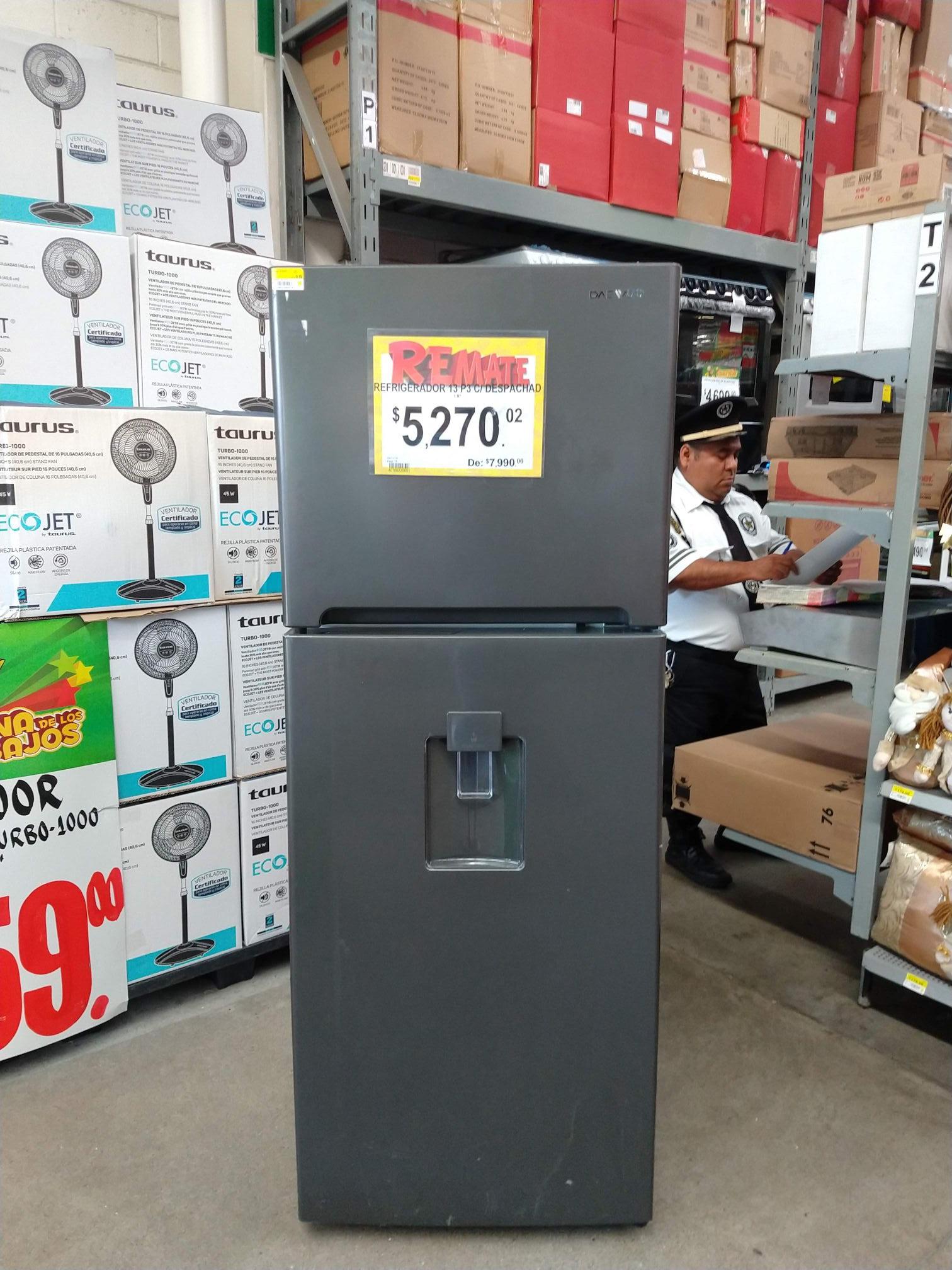 Bodega Aurrerá Coloso, Acapulco de Juárez: Refrigerador Daewoo 13 pies