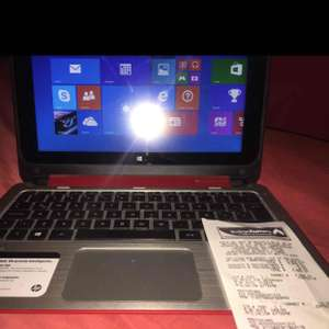 Bodega Aurrerá: HP 2 en 1 x360 11-N0101LA Beats Audio laptop tablet 500gb y 4gb ram
