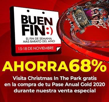 Promoción Six Flags Buen Fin 2019: Pase anual desde $609