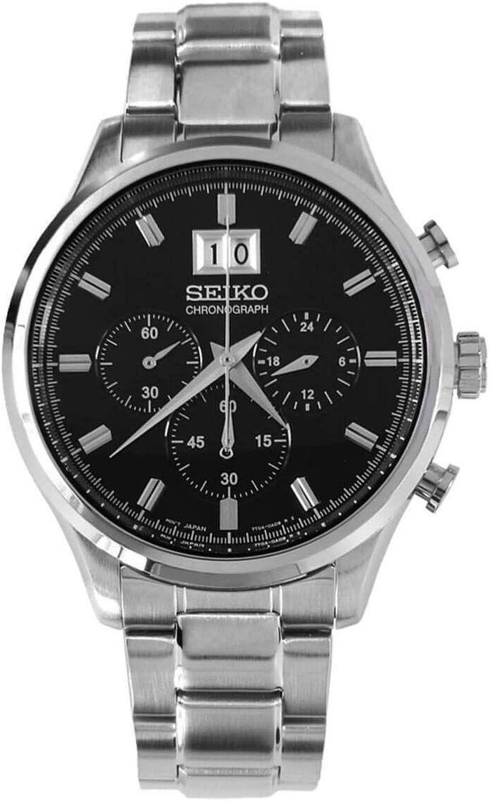Costco: Seiko, Reloj para Caballero Chronograph SPC083P1