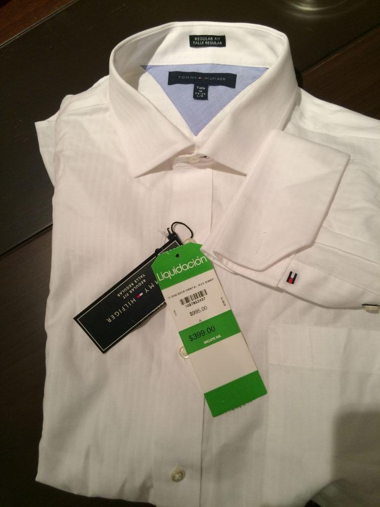 Liverpool: Camisa de mancuernillas Tommy Hilfiger de $995 a $399