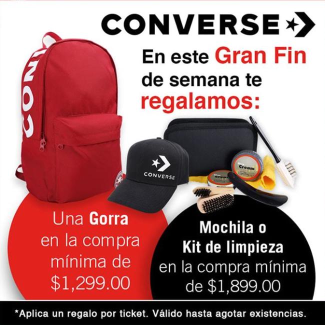 Oferta El Buen Fin 2019 en tiendas Converse