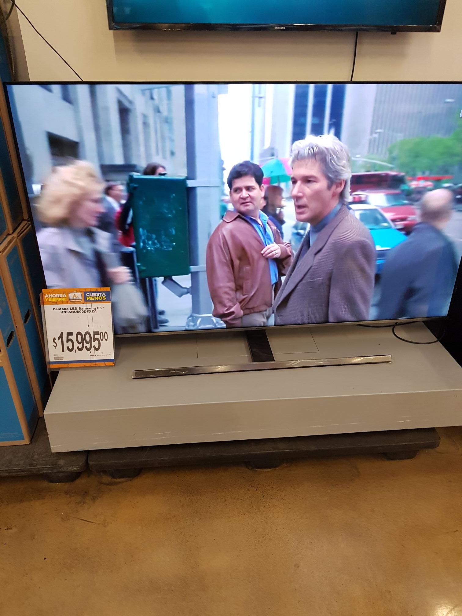 "Chedraui: Smart TV Samsung 65"" NU8000"