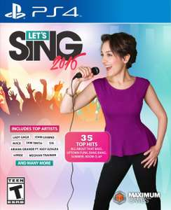 Amazon MX: Lets Sing 2016 PS4