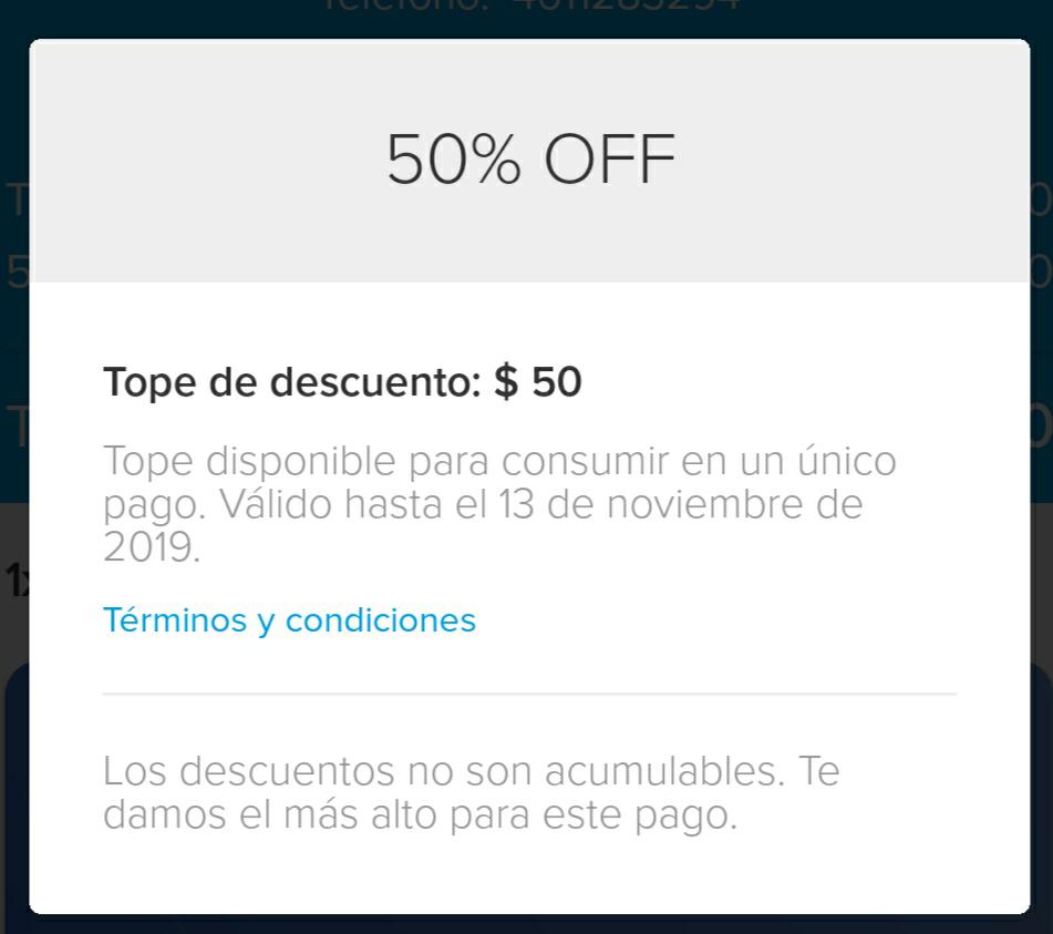 Mercado Pago: $50 Pesos de descuento en recargas Movistar, At&t, Unefon y Virgin (usuarios seleccionados)