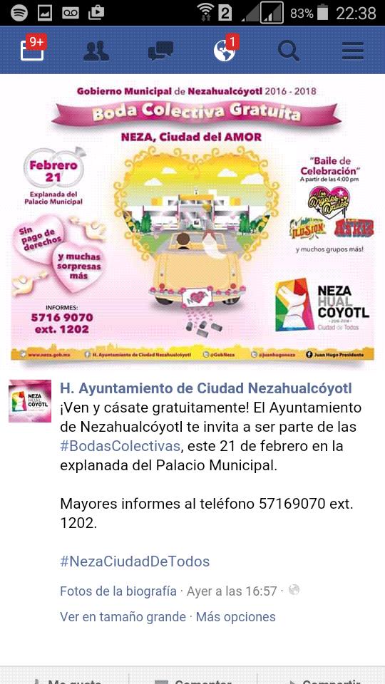 Gobierno Nezahualcóyotl: BODAS COLECTIVAS GRATIS CUALQUIER MUNICIPIO O DF