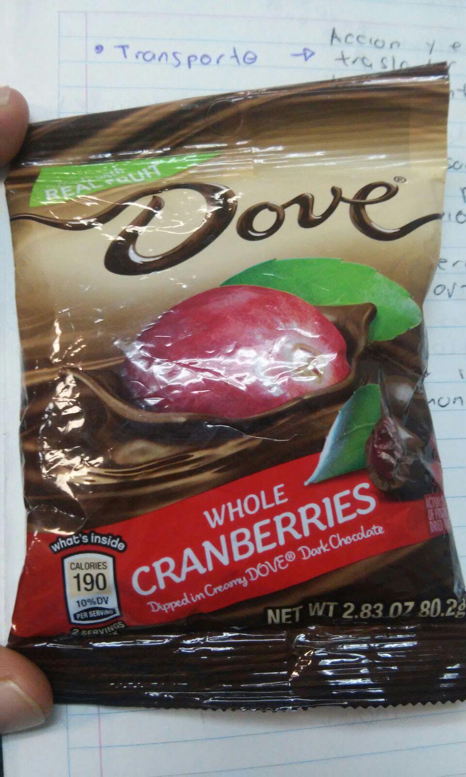 Chedraui: Chocolates Dove con Arandanos $4.30 (-90%) / Paquete de paletas PikeElotix $3.90 (-90%)