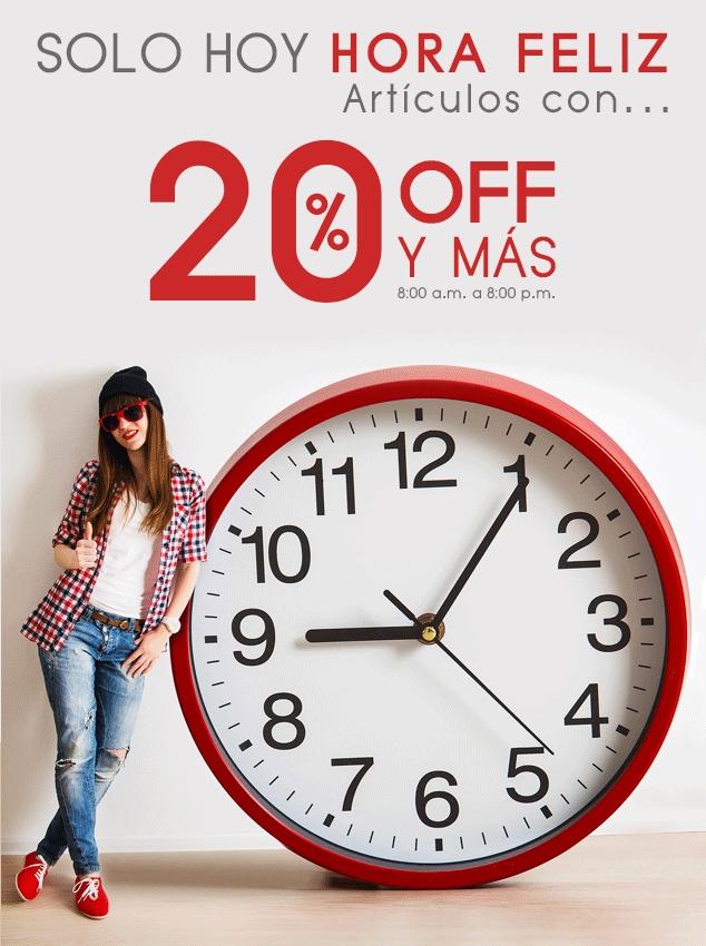 Gaudena: Hora Feliz 10 de Febrero, descuentos 20% más cupón de $200 más envío gratis.