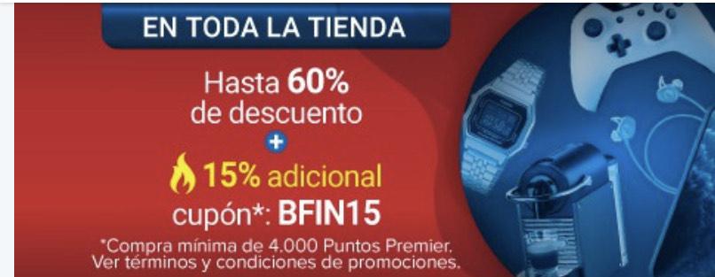 Buen Fin Tienda Club Premier Hasta 60% de descuento más 20% adicional