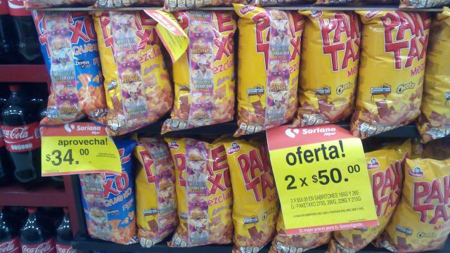 Soriana: 2 Paketaxo, Doritos y Cheetos x $50