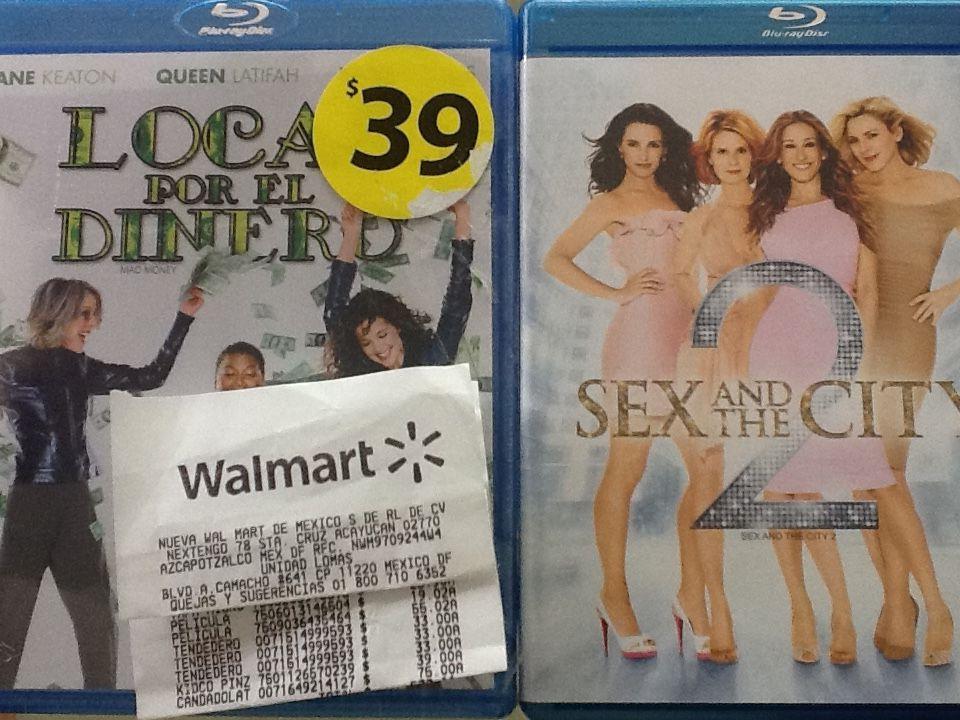 Walmart Lomas: Películas Blu Ray desde $19.02