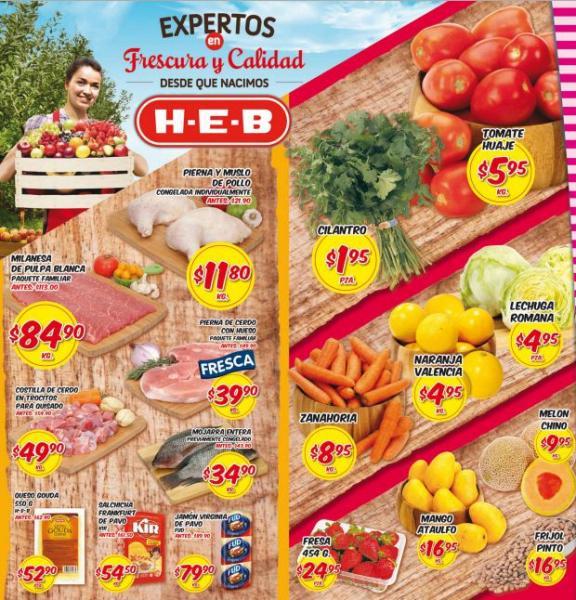 HEB: tomate $5.95, 2 por 1 y medio en ropa para dama y más
