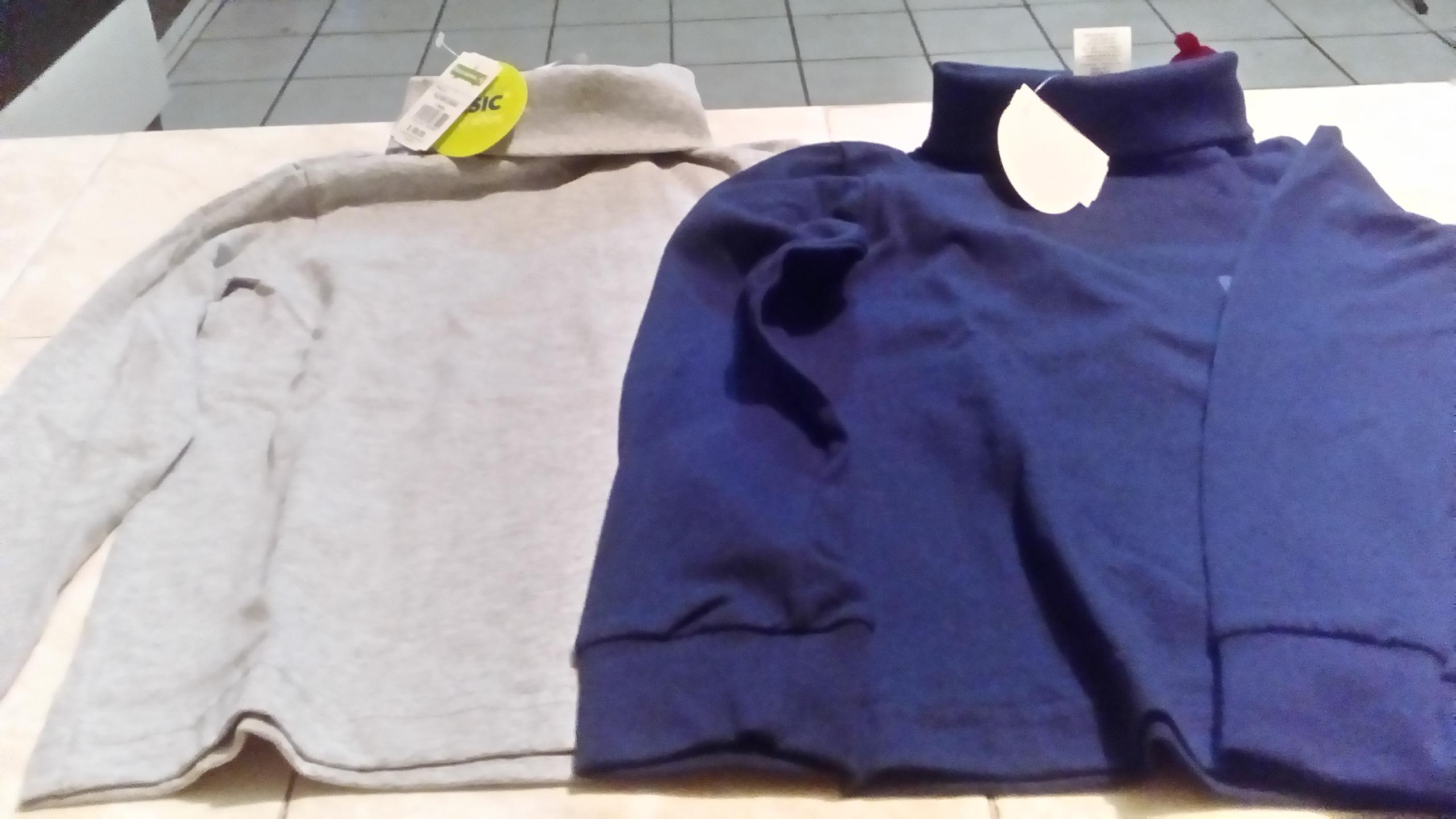 Bodega Aurrerá: Camisa para niño cuello largo azul o gris a $10.02