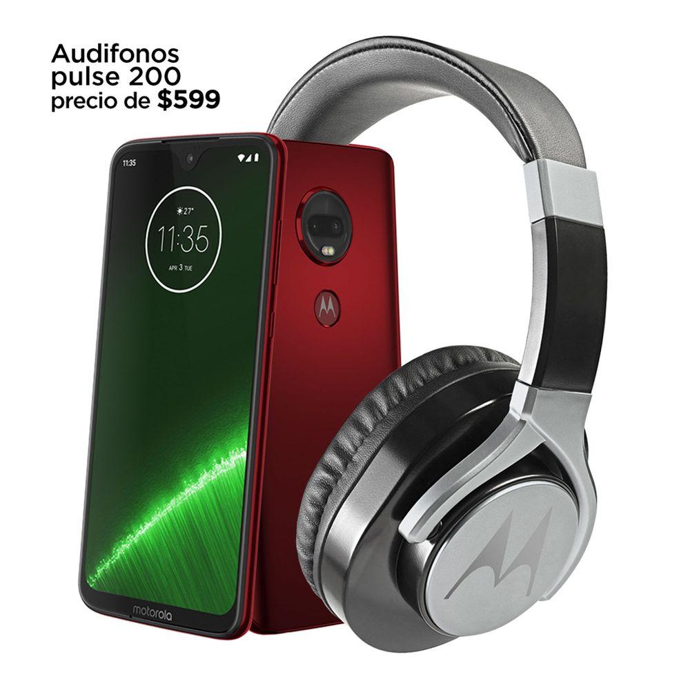 Motorola: Moto g7 plus + audífonos puse 200