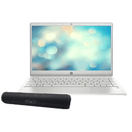 HP: Laptop HP Pavilion 13 i5 8° Gen 8GB Ram NVMe M.2 256GB + Bocina