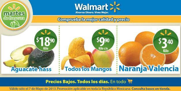 Martes de frescura Walmart mayo 7: todos los mangos $9.90 y más