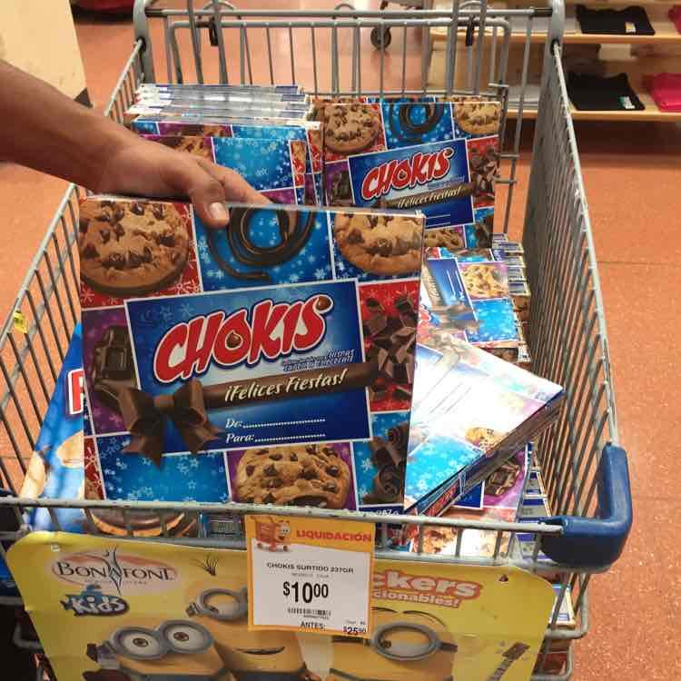 Walmart Jiutepec: galletas Chokis Surtido a $10, sopa Campbells Star Wars a $7