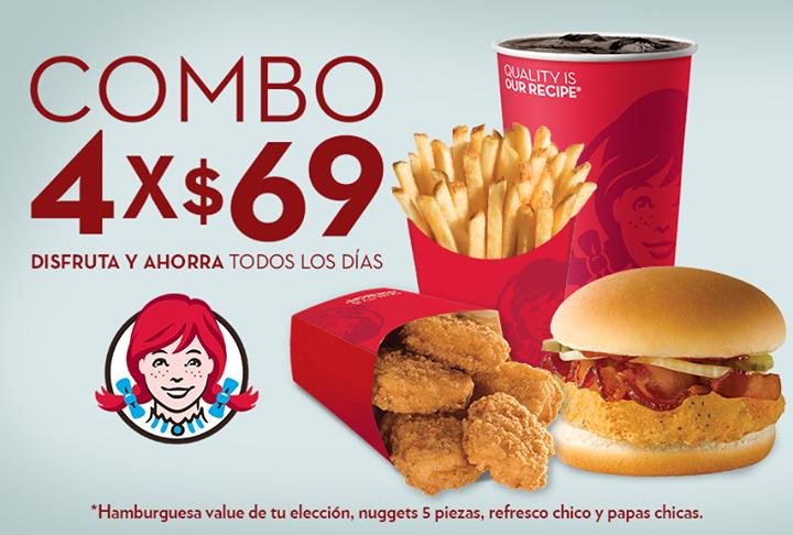 WENDY'S: Combo4x $69.00