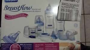 Walmart: Starter Set de Biberones Breastflow a $150.02