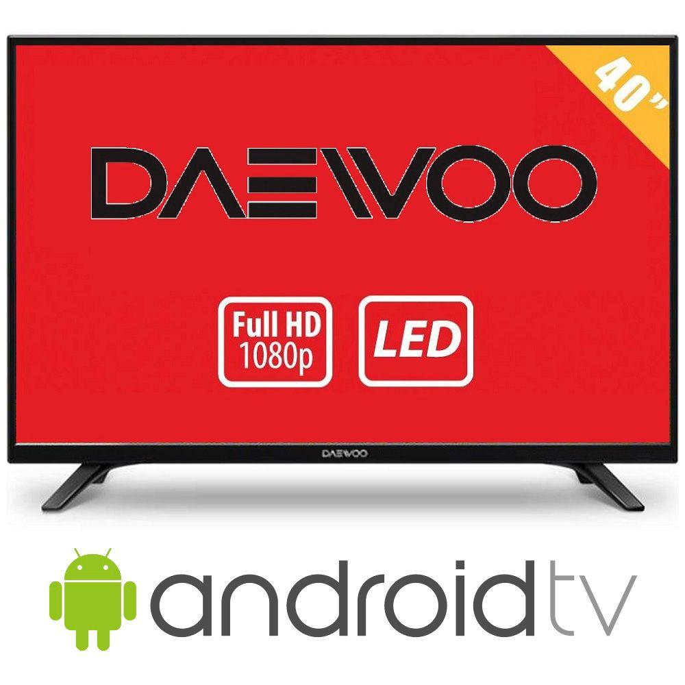 Walmart: TV Daewoo 40″ HDTV LED mas Android Smart TV a $6,699