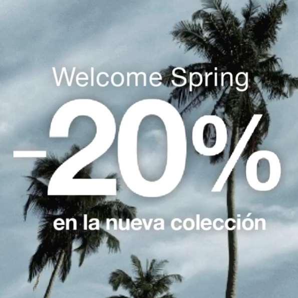 Gap: 20% de descuento en nueva colección presentando imagen