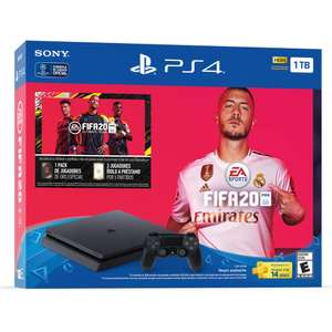 Best Buy: Consola PlayStation 4 de 1TB Edición: FIFA 20