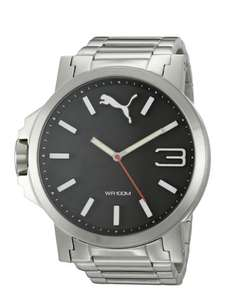 Amazon USA: reloj Puma ultragrande de acero inoxidable modelo PU-103461-0038 a $967