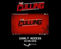 Steam: registro para beta cerrada de The Culling en Steam (PC)