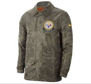 Liverpool : Chamarra Nike, Salute to Service Steelers