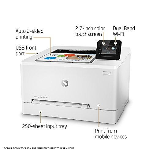 "Amazon Mx: HP M254dw Impresora Inalámbrica, LCD 2.7"""