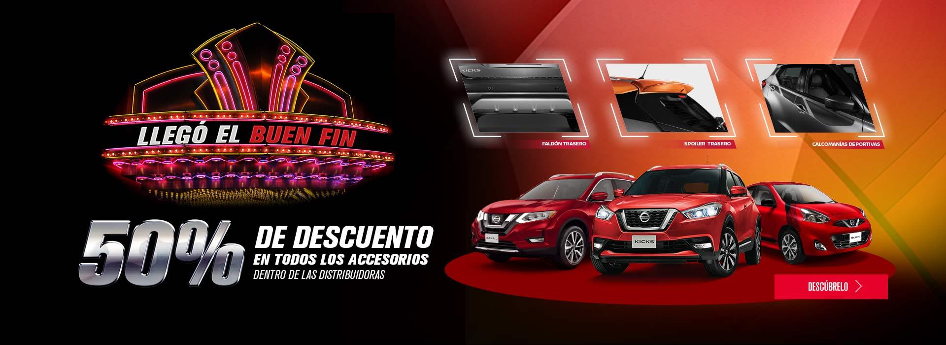 Nissan Acueducto y Vallarta: Todos los accesorios para tu auto con 50%