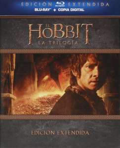 Amazon MX: Trilogía Extendida del Hobbit en Bluray