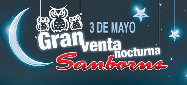 Venta Nocturna Sanborns 3 de mayo