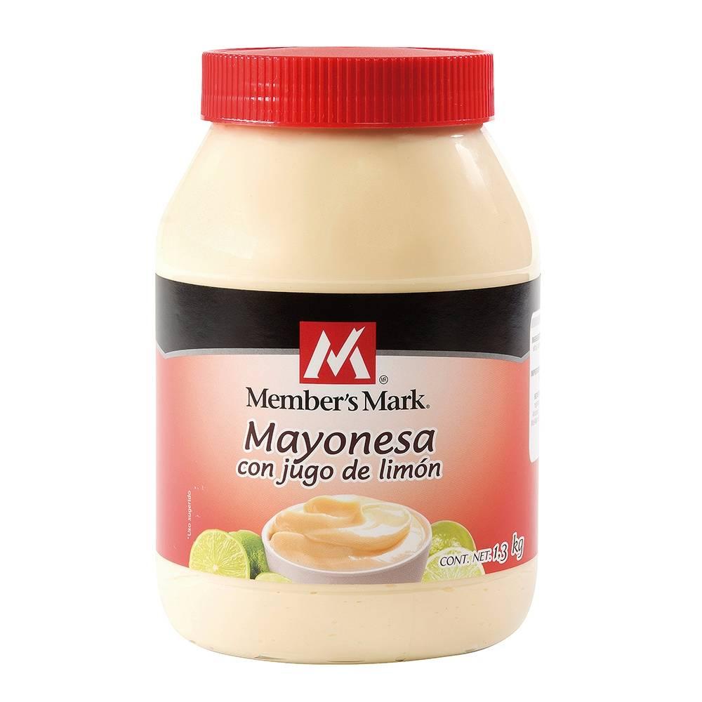 Sam's Club Jurica Querétaro: mayonesa Members Mark de 1.3 kg a $15