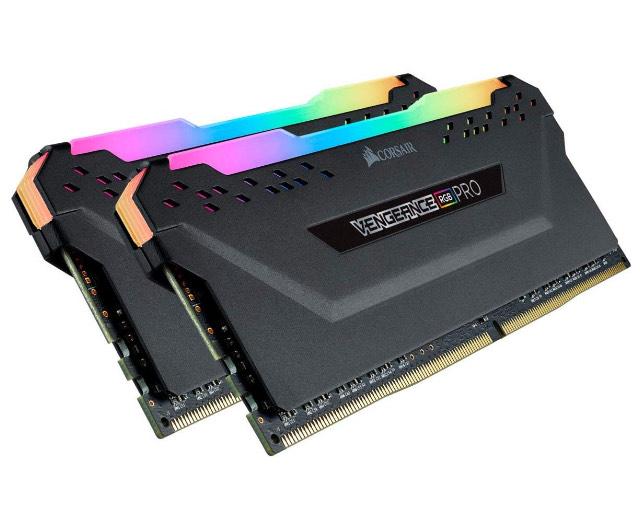 Amazon: Memoria RAM 2X8Gb 2666MHz Corsair Vengeance RGB