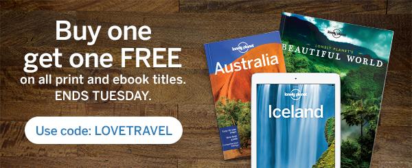 Lonely Planet: 2x1 en Guías de viaje